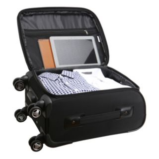 Columbus Blue Jackets 20-in. Expandable Spinner Carry-On