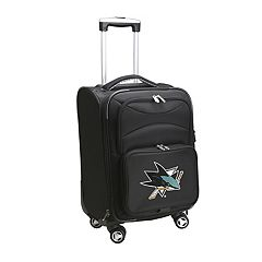 San Jose Sharks 20 in Expandable Spinner Carry-On