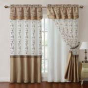 Victoria Classics Daphne Layered Curtain - 57'' x 84''