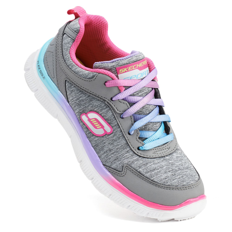 skechers memory foam shoes girls