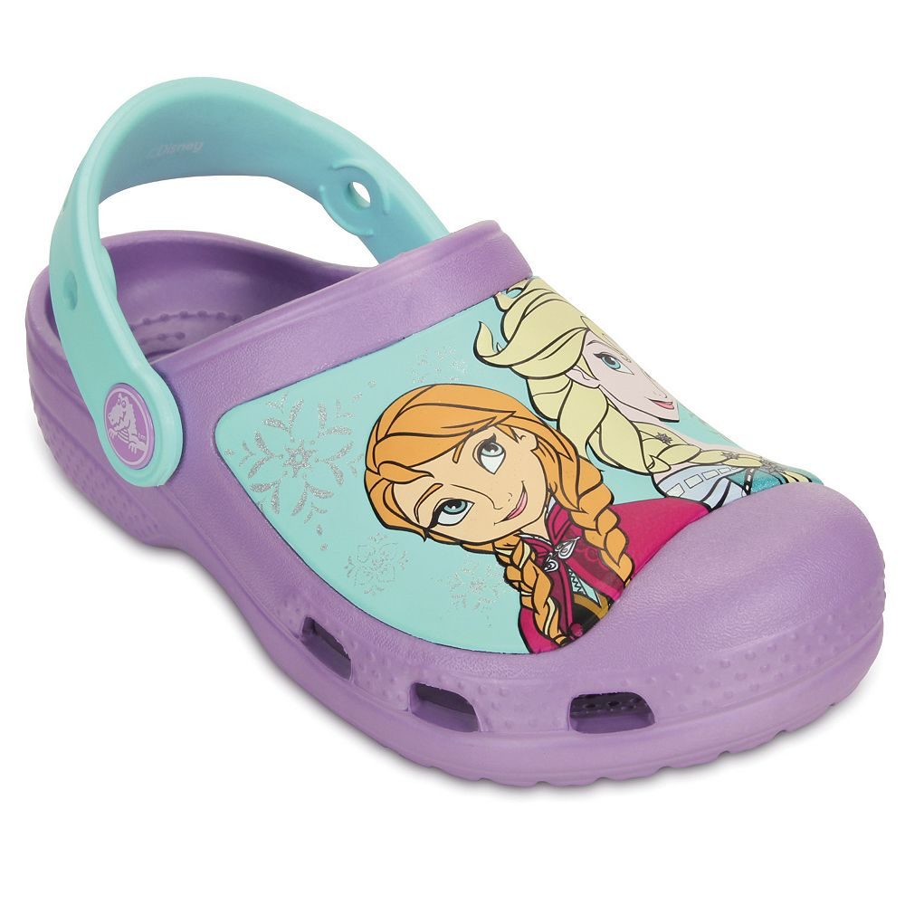 583e0eb2bb853e Crocs Disney Frozen Elsa   Anna Kids  Clogs