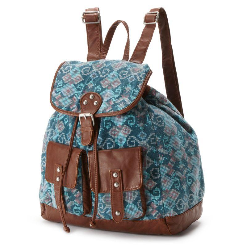 Mudd James Printed Backpack