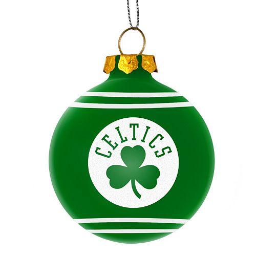 Forever Collectibles Boston Celtics Christmas Ball Ornament