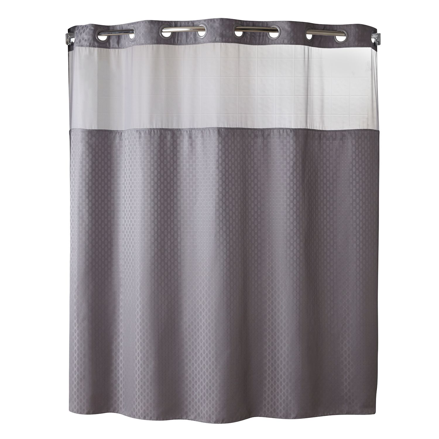Silver Grey Shower Curtain Part - 31: Hookless Shower Curtains Shower Curtains U0026 Accessories - Bathroom, Bed U0026  Bath | Kohlu0027s