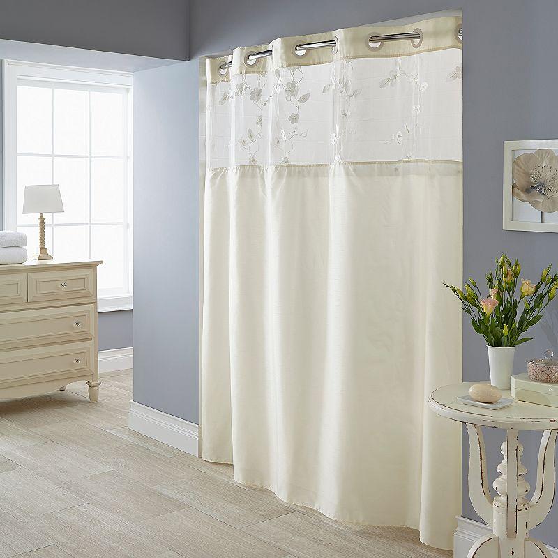 Serena 2-pc. Fabric Shower Curtain & Liner Set