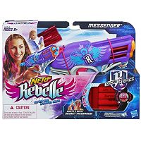 Nerf Rebelle Messenger Blaster by Hasbro