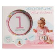 Stepping Stones Baby's First Year Belly Stickers