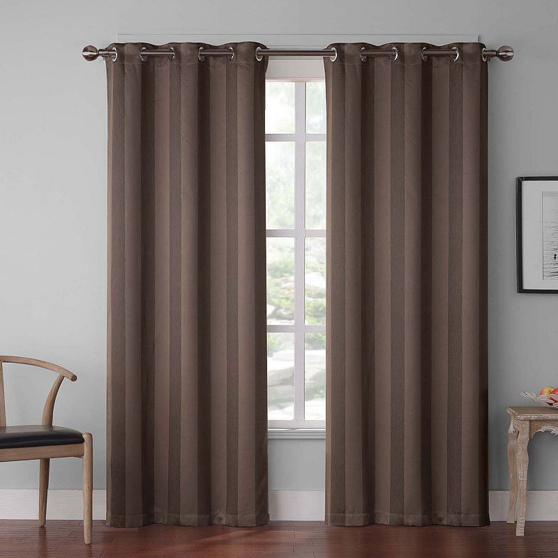 Imported Striped Curtains