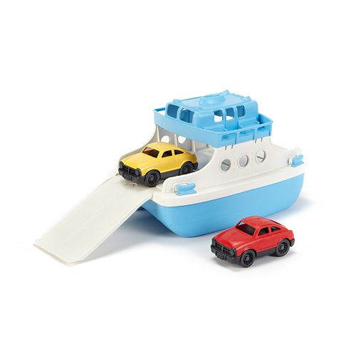 Green Toys Ferry Boat & Cars Set