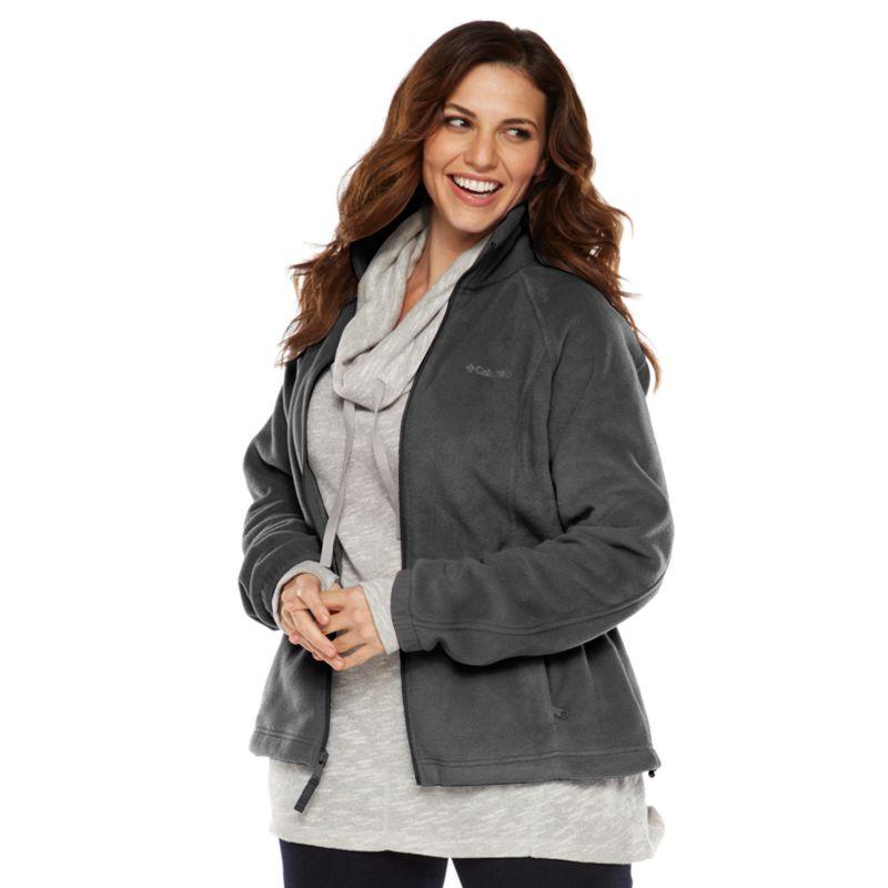 Columbia Sportswear Solid Fleece Jacket - Women's Plus