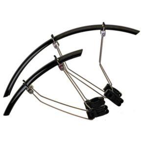 Mighty 35-mm. Black Blade Fender Set for Road Bikes