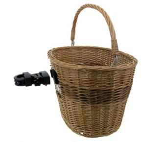 Mighty Quick-Release Wicker Basket