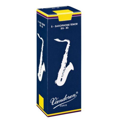 Vandoren Traditional 5-pk. Tenor Saxophone #3 Reeds