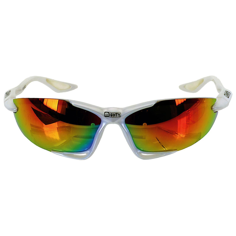 white sport sunglasses  Mighty Z13 White Sport Sunglasses