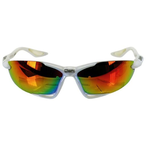 Mighty Z13 White Sport Sunglasses