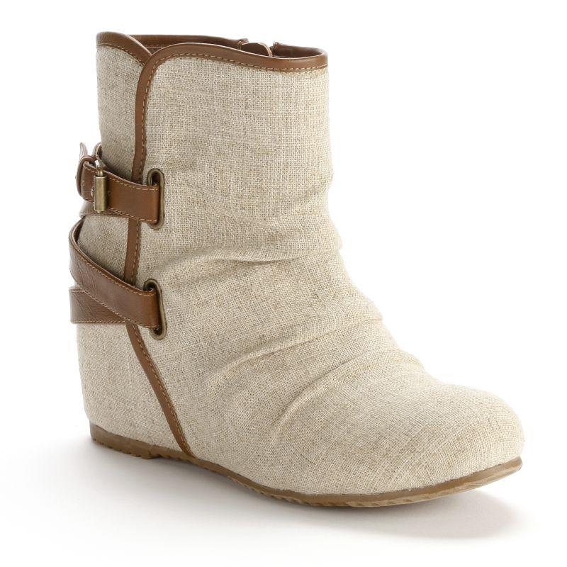 mudd canvas wedges wedge sandals