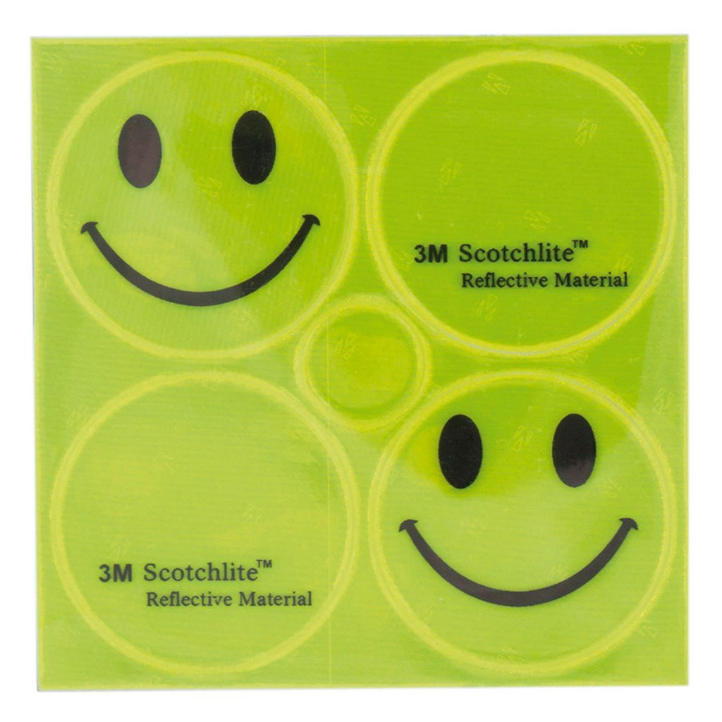 M-Wave 3M Scotchlite Reflective Bike Sticker Set