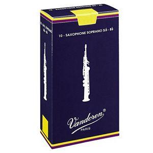 Vandoren Traditional 10-pk. Soprano Saxophone #2.5 Reeds