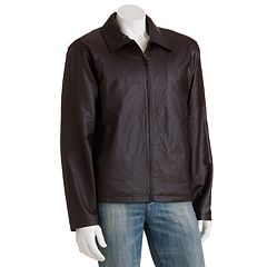 Men's Vintage Leather Brown Split Napa Leather Jacket