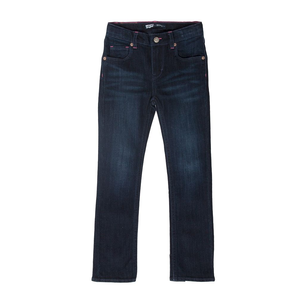 Girls 4-6x Levi's Heart Skinny Jeans