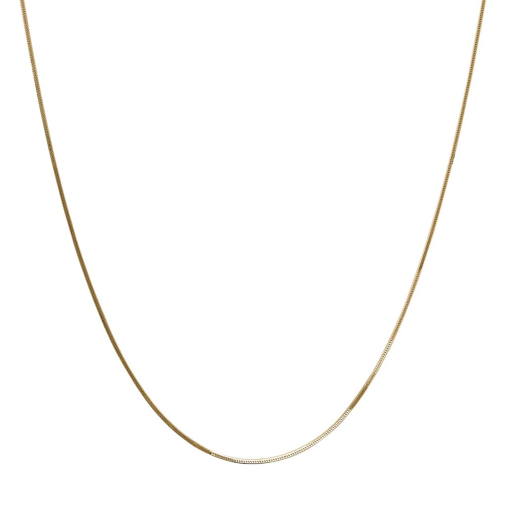 Everlasting Gold 14k Gold Snake Chain Necklace - 18-in.