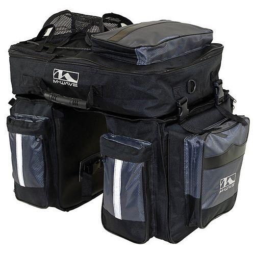M-Wave Amsterdam Triple Pannier Bag