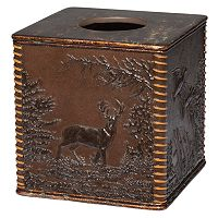 Hautman Brothers Rustic Montage Tissue Box Cover