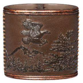 Hautman Brothers Rustic Montage Toothbrush Holder