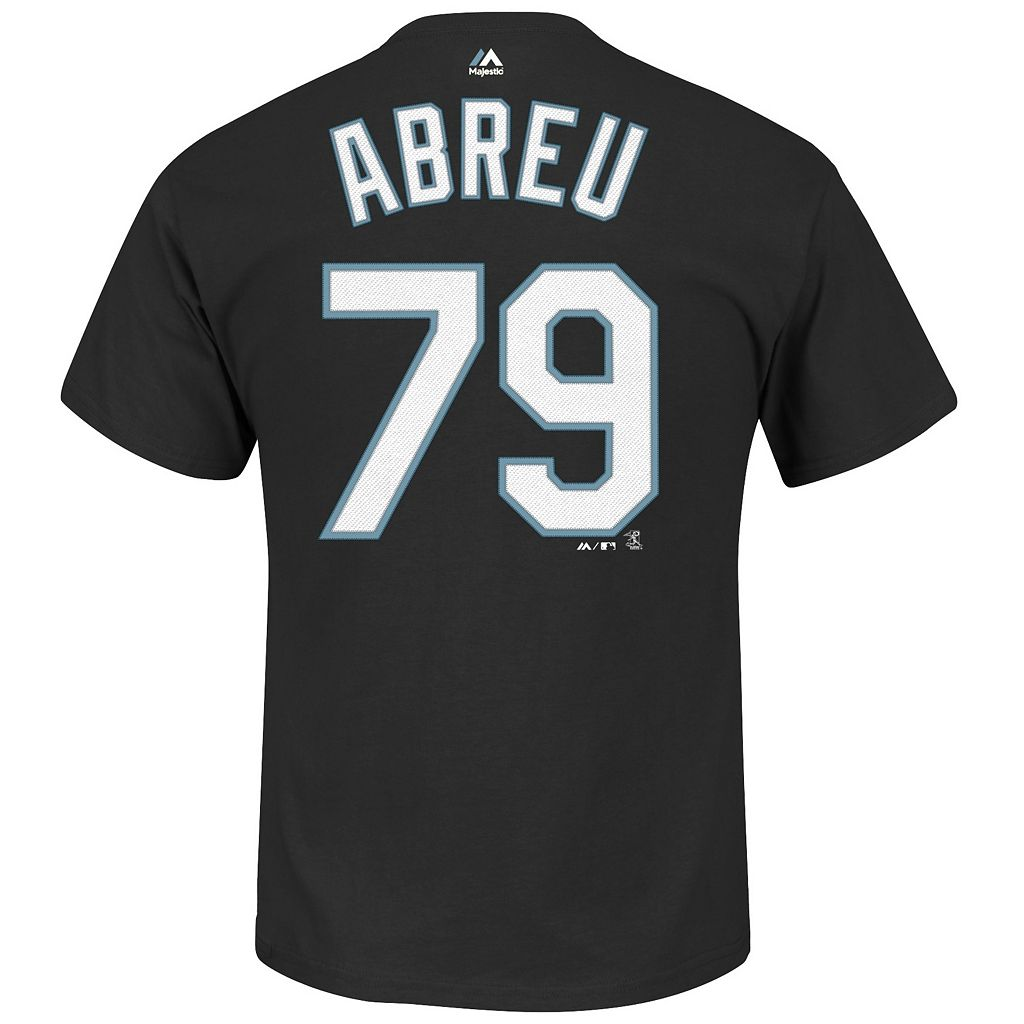 Men's Majestic Chicago White Sox Jose Abreu Tee