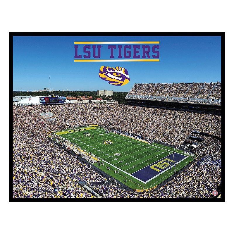 LSU Tigers StadiumViews 3D Wall Art
