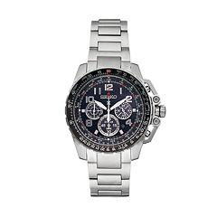 Seiko Men's Prospex Stainless Steel Flight Computer Solar Watch - SSC275