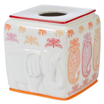 Creative Bath Silk Road Tissue Box Cover