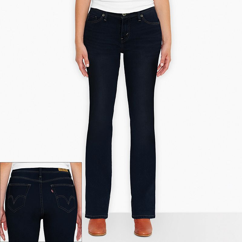 Levi's 529 Curvy Bootcut Jeans - Women's (Blue)