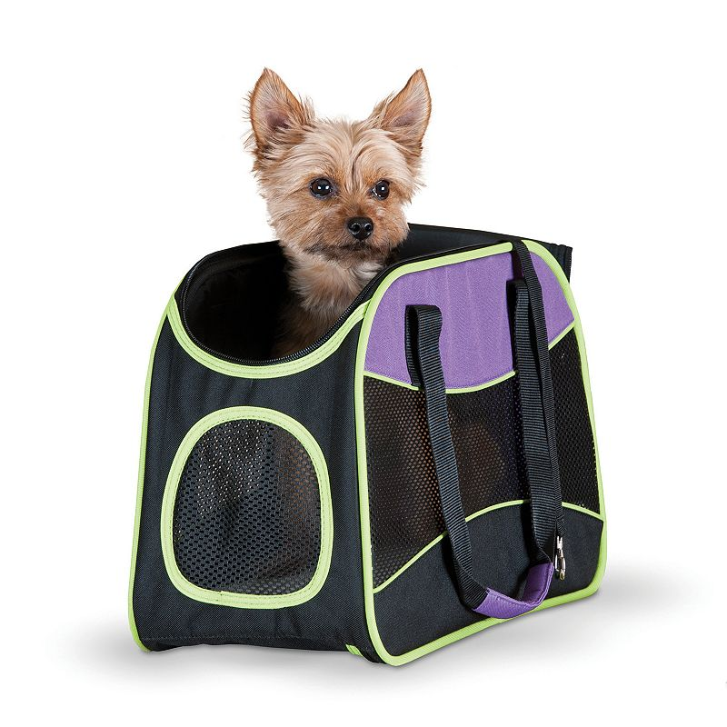 K & H Easy Go Pet Carrier (Black)