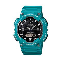 Casio Men's Tough Solar Illuminator Analog & Digital Watch - AQS810WC-3AVCFK