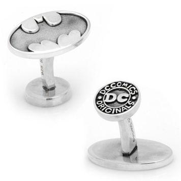 DC Comics Batman Sterling Silver Cuff Links