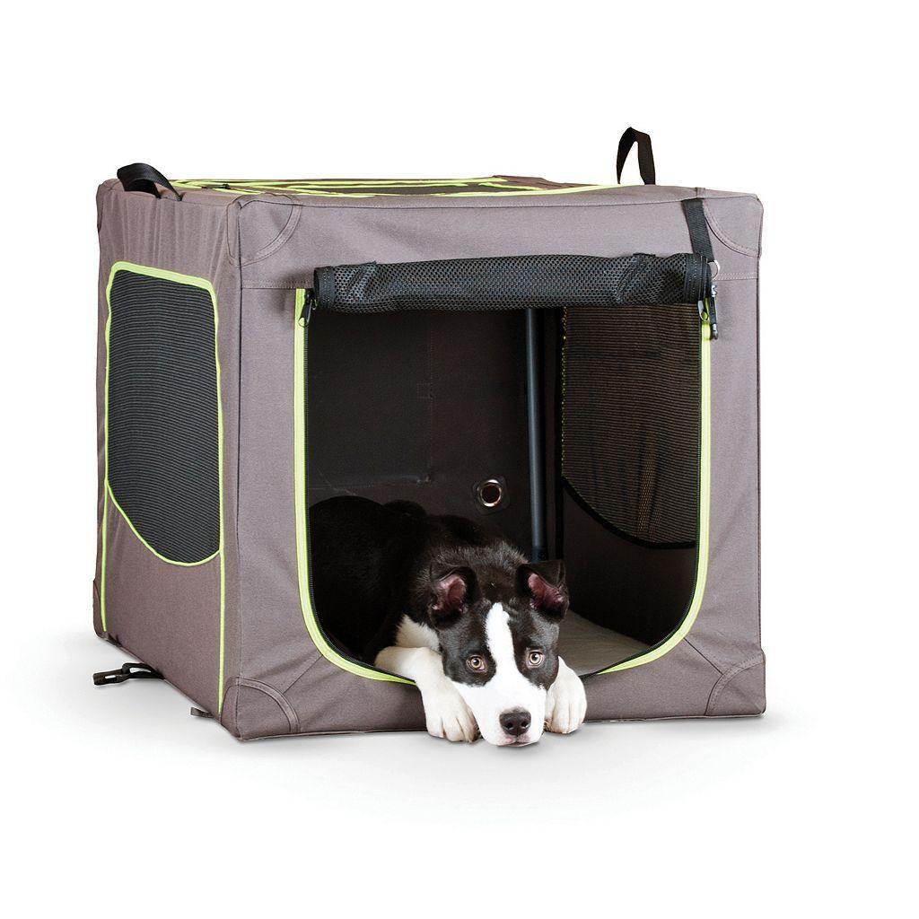 KandH Classy Go Medium Portable Soft Pet Crate