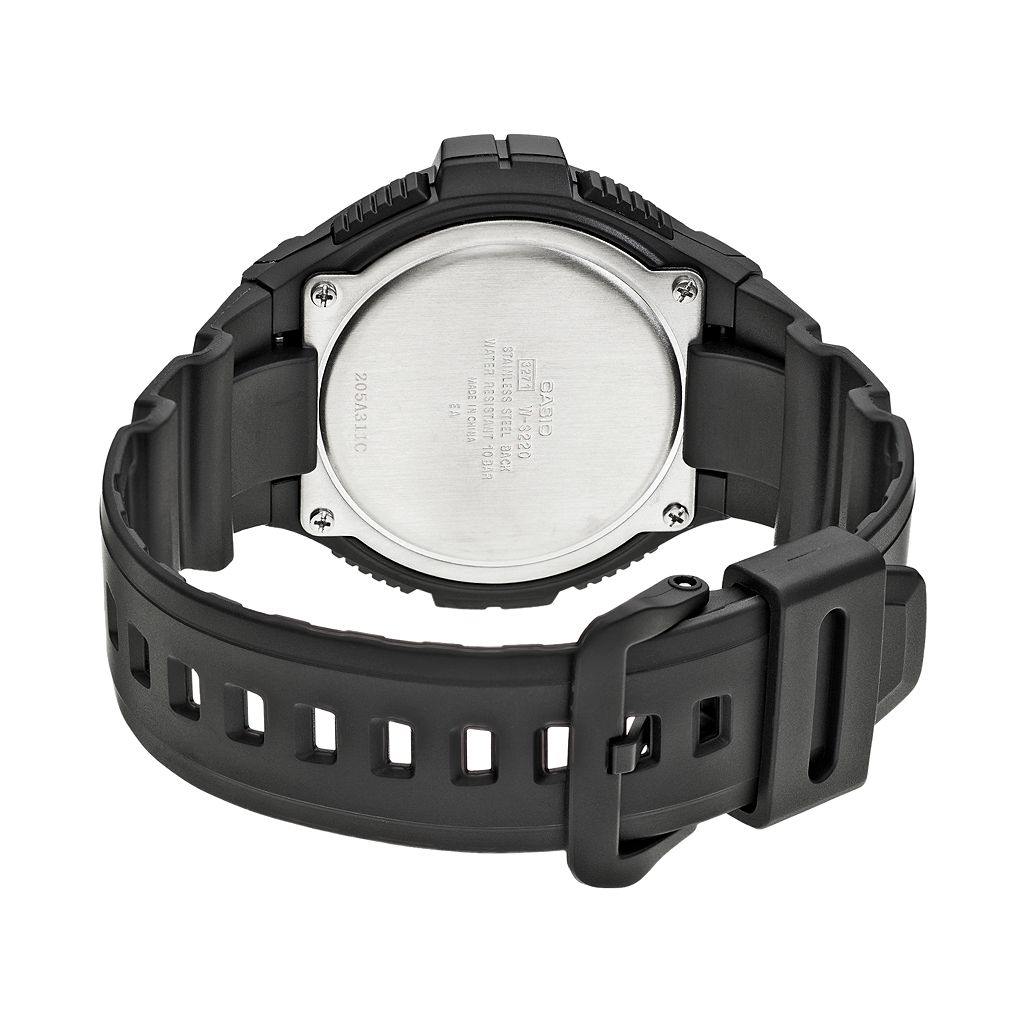 Casio Illuminator Tough Solar Digital 120-Lap Chronograph Watch