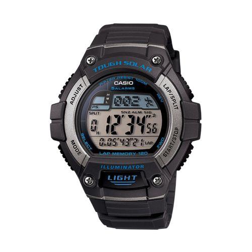 Casio Watch - Illuminator Tough Solar Digital 120-Lap Chronograph