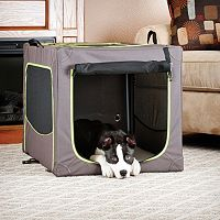 K&H Classy Go Large Portable Soft Pet Crate