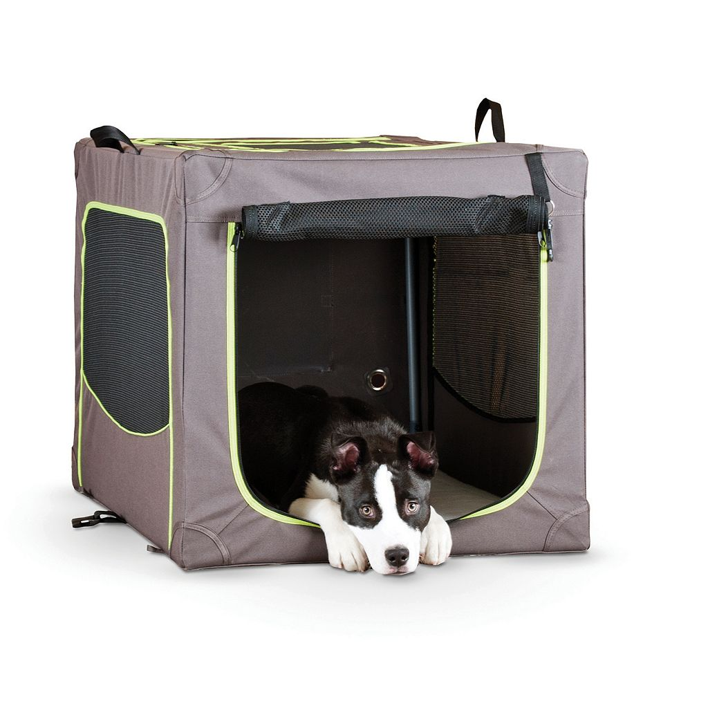 KandH Classy Go Large Portable Soft Pet Crate