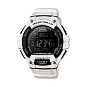 Casio Unisex Illuminator Tough Solar Digital 120-Lap Chronograph Watch