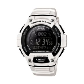 Casio Unisex Illuminator Tough Solar Digital 120-Lap Chronograph Watch