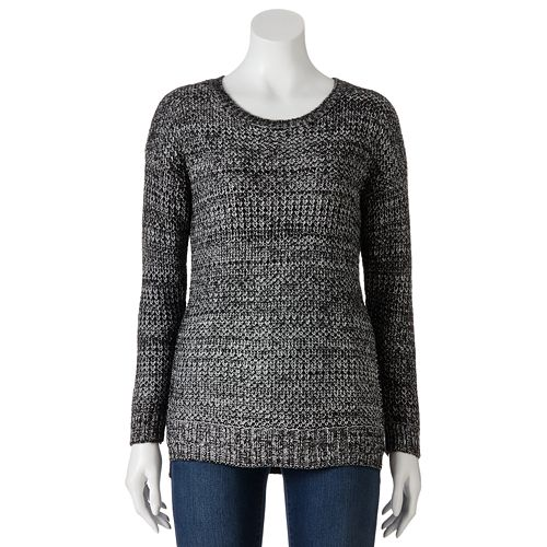 SO® Crochet Tunic Sweater - Juniors