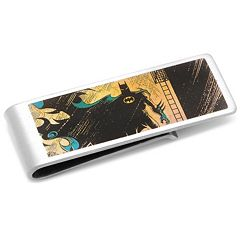 DC Comics Vintage Batman Silver-Plated Money Clip