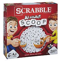 Scrabble Alphabet Scoop Game by Hasbro