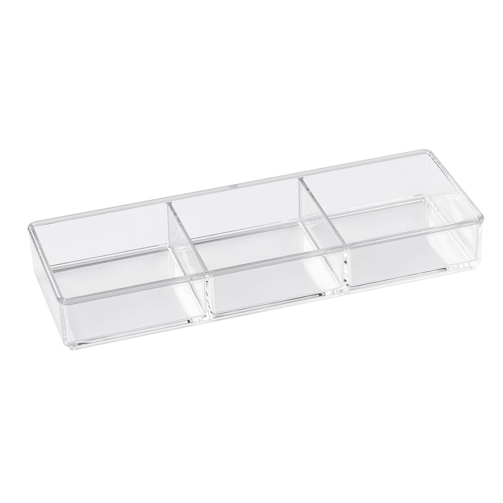 Creative Bath 3-Compartment Bathroom Organizer