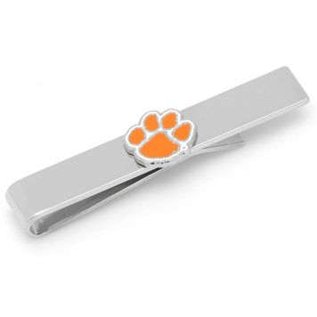 Clemson Tigers Nickel-Plated Tie Bar