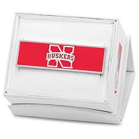 Nebraska Cornhuskers Rhodium-Plated Money Clip