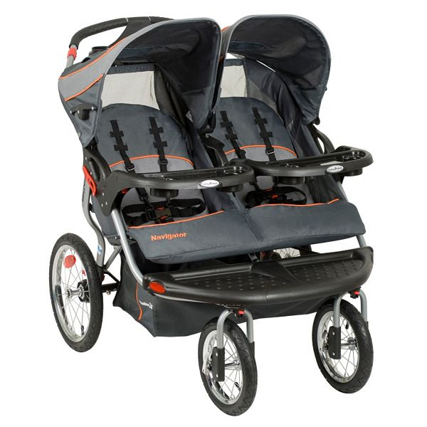 Baby Trend Navigator Double Jogging, Baby Trend Jogging Stroller Infant Car Seat Adapter